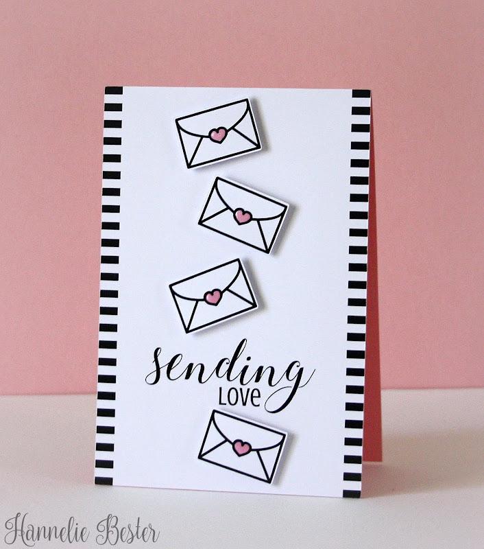 sending love card
