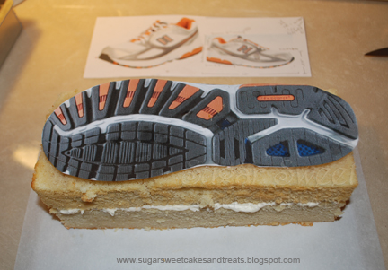 Tennis Shoe Cake Pan
