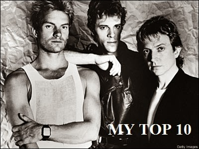 THE POLICE - MY TOP 10