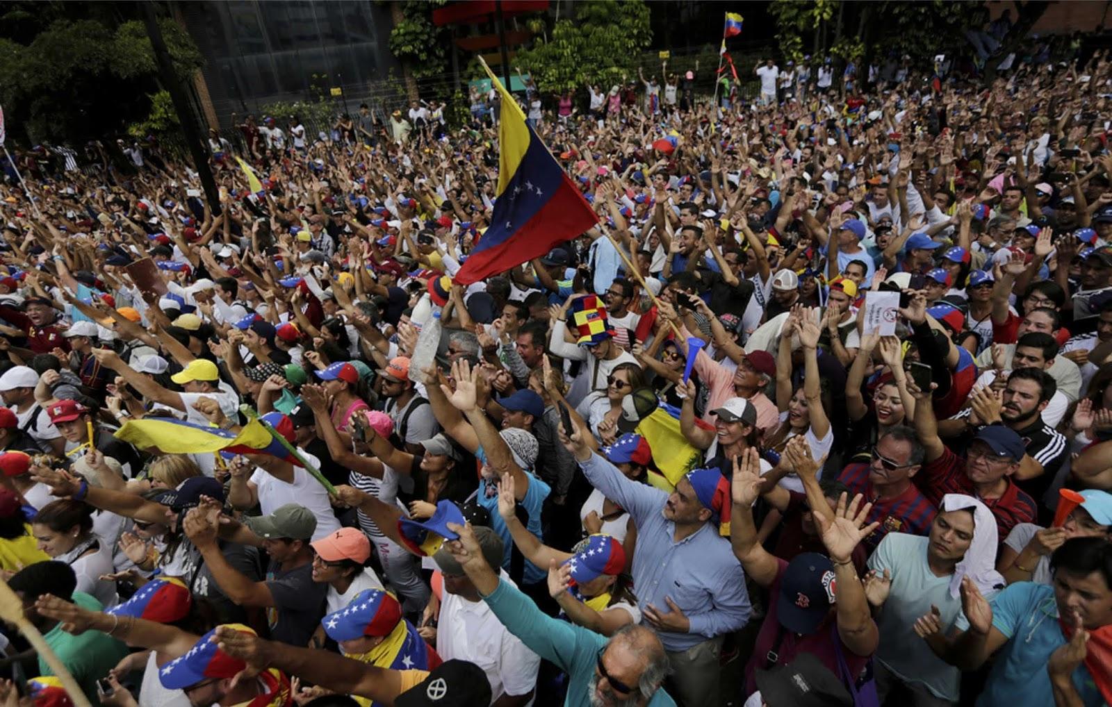 intervensi asing dalam urusan Venezuela dapat menyebabkan perang saudara