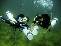 sidemount diving panama