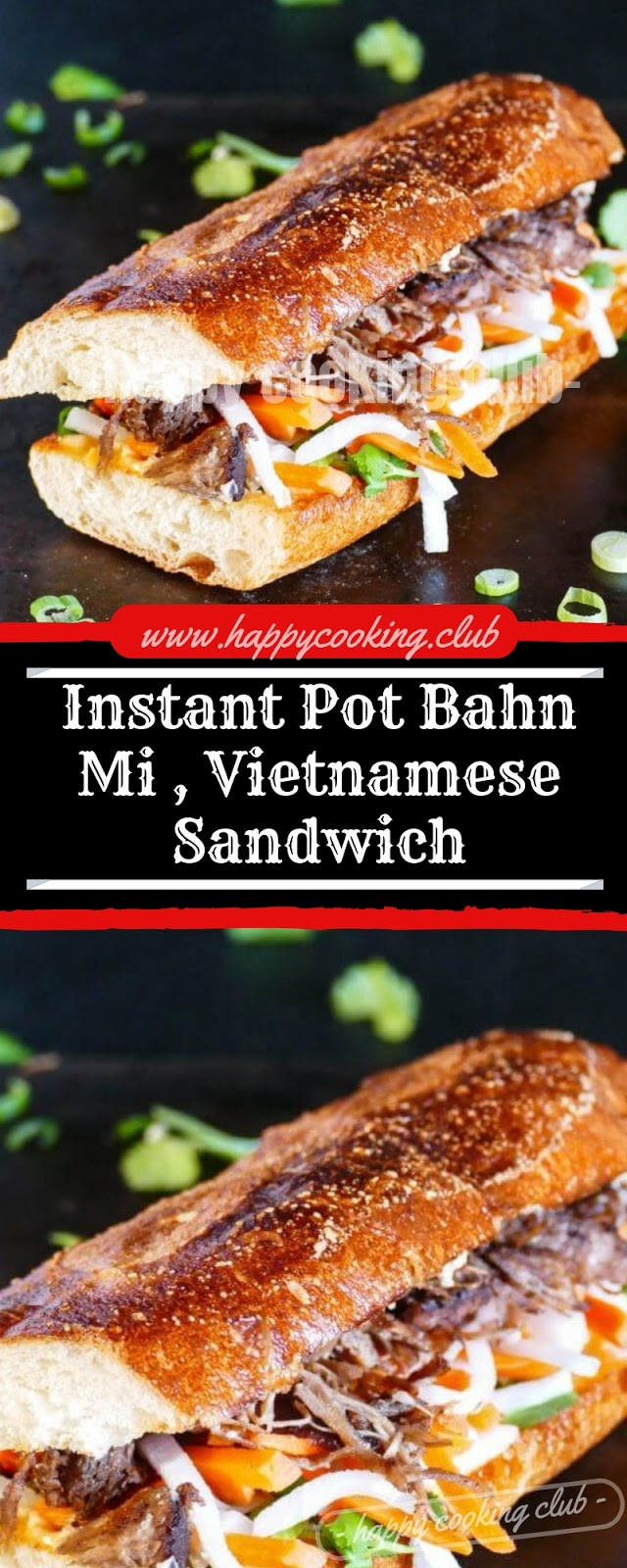 Instant Pot Bahn Mi , Vietnamese Sandwich