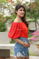 Rhea Chakraborty in Red Crop Top and Denim Shorts Spicy Pics ~  Exclusive 136.JPG