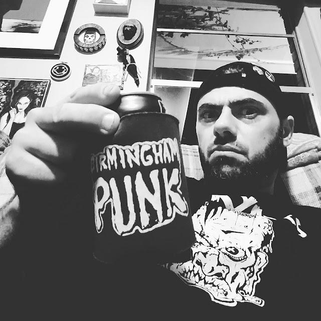 "Meet Punk Rock Painter ""Brian Burks"" from Pleasant Grove, Alabama"