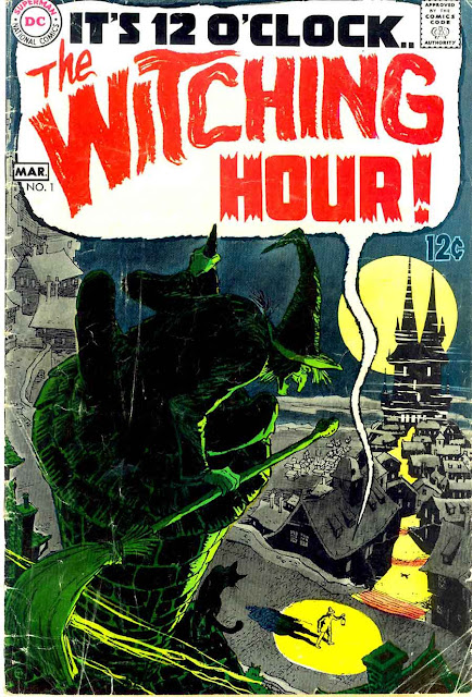 Witching Hour v1 #1, 1969  dc bronze age horror comic book cover by Nick Cardy