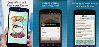 aplikasi lupa ponsel android whistle phone finder