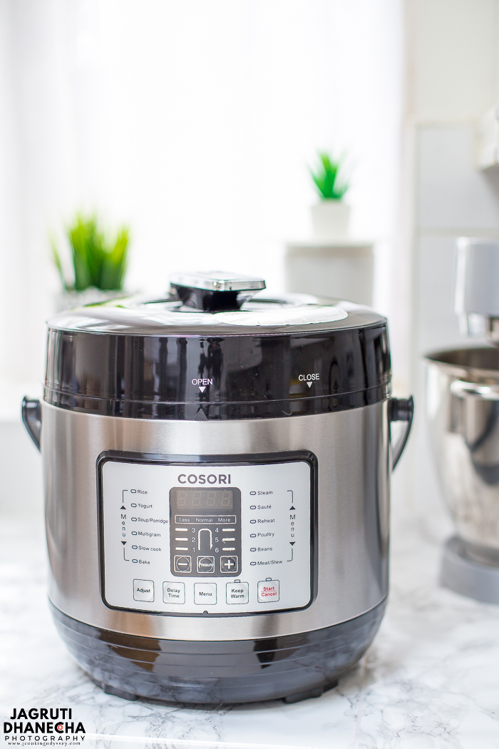 Cosori electric pressure cooker 7 in 1 6 litre.
