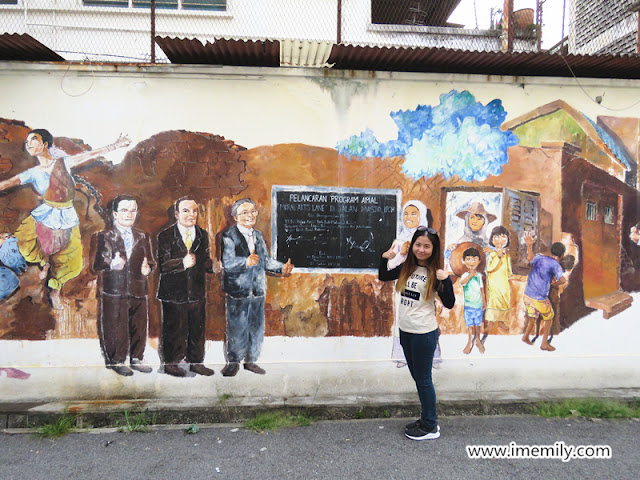 Ipoh Mural and Ipoh Street View