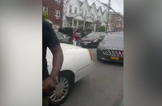 VIDEO: Queens Residents Try To Stop ICE Agents From Making Arrest