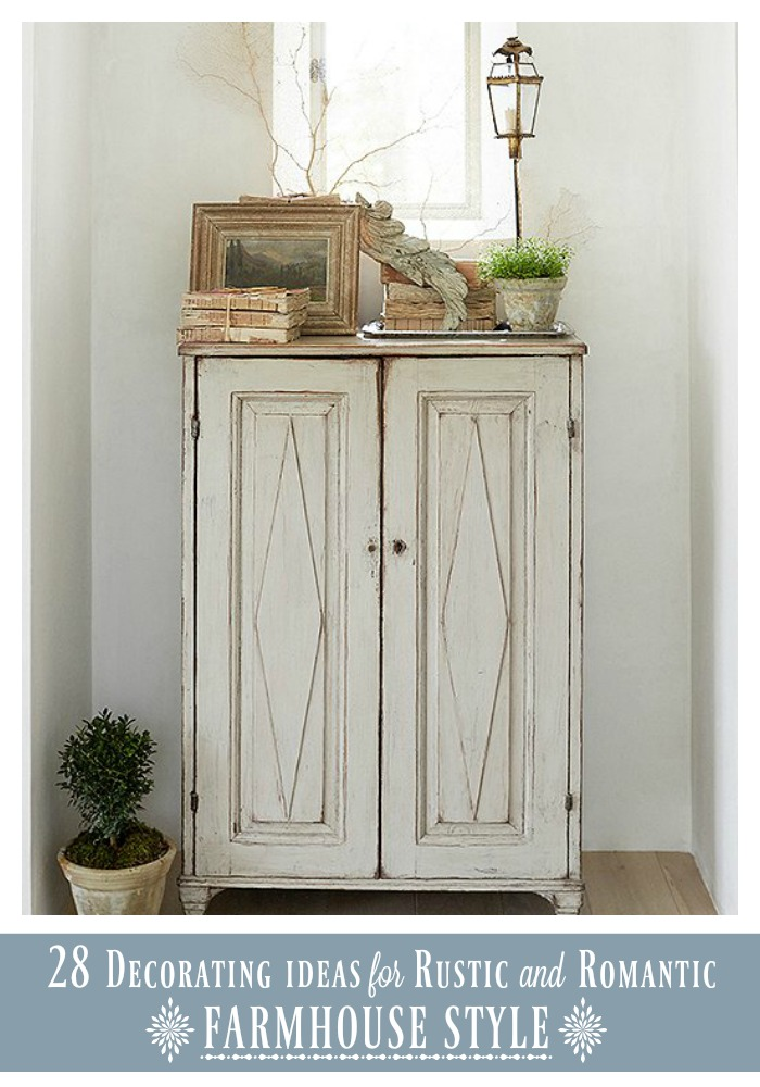 28 Decorating Ideas for Rustic and Romantic Farmhouse Style ...