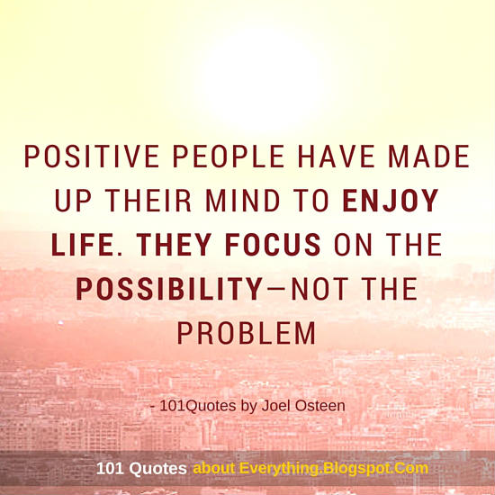 Focus On The PossibilityNot The Problem Joel Osteen Quote 60 Extraordinary Joel Osteens Quotes