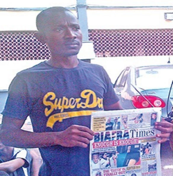 See Biafran Times Newspaper publisher arrested by police