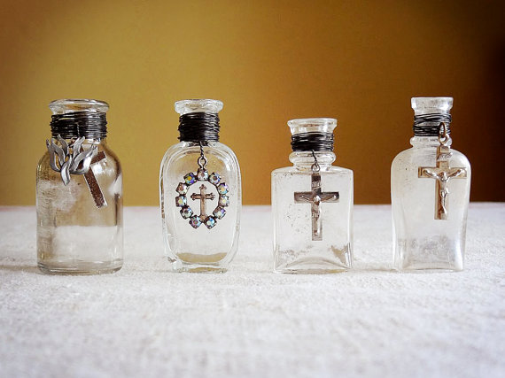 Using Blessed Salt & Holy Water For Protection From Evil | loves