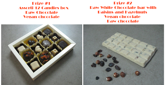 Jewelry Designer  Blog. Jewelry by Natalia Khon: GIVEAWAY of handmade vegan raw chocolate. 2 PRIZES!