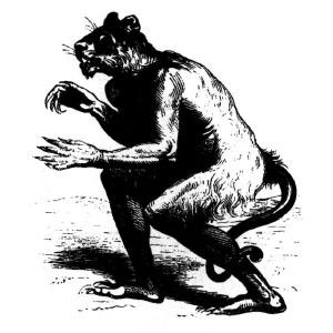 Goetia - Haures (ilustração)