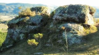 Pedras Brancas Junto à Descida da Tirolesa, em Lages