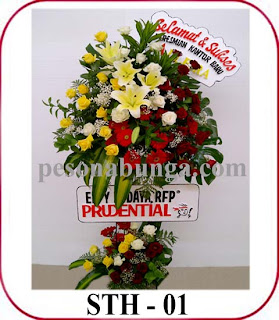 bunga standing sukses