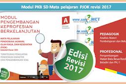 Modul PKB SD Mata pelajaran PJOK revisi 2018
