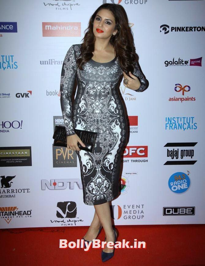 Huma Qureshi, Mumbai Film Festival 2014 Photos