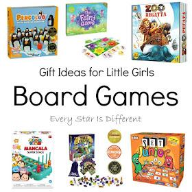 Gift Ideas for Little Girls: Board Games