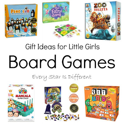 Gift Ideas for Little Girls: Board Games
