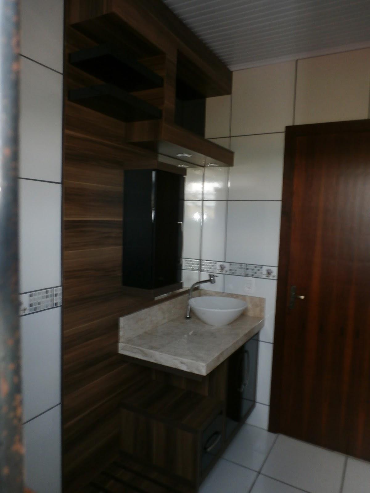 Móveis Maciel  Balcão para banheiro  Cliente Ibirubá -> Armario Banheiro Rs
