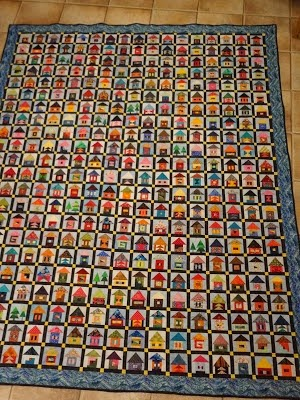 Selvage Blog Tiny Houses Quilt Amazing