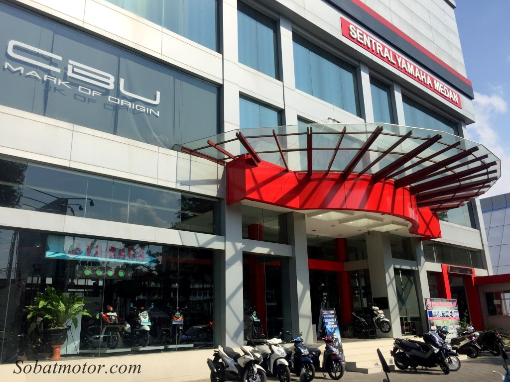 Tingkatkan pelayanan, Yamaha Alfa Scorpii Medan kini sediakan fasilitas booking service !