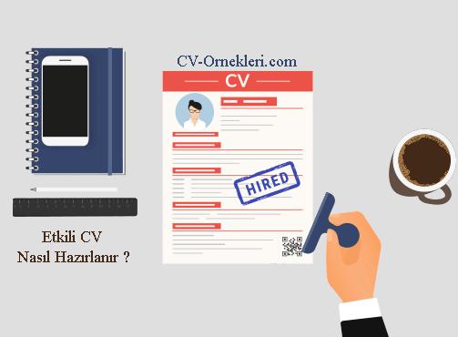 Etkili CV Nasıl Hazırlanır ?