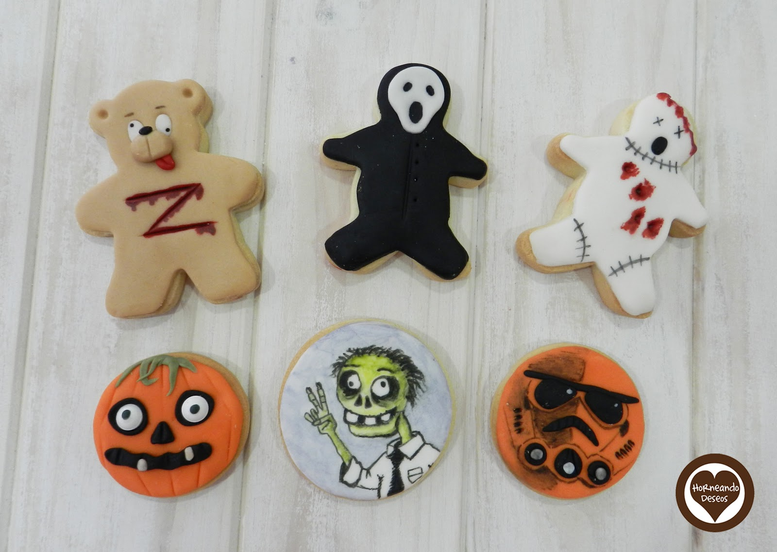 Galletas Decoradas Hallowen Cupcakes Monstruosos Y Galletas Para Halloween