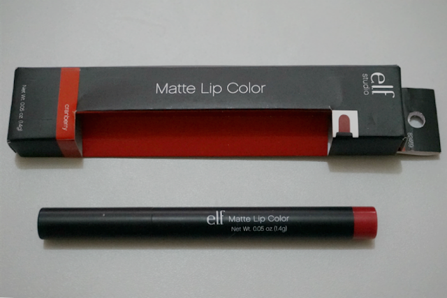 e.l.f. Studio Matte Lip Color in Cranberry