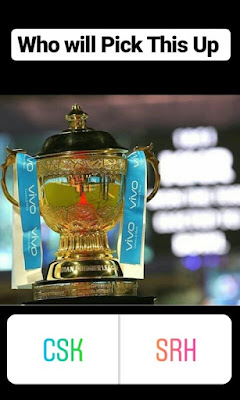 Who Will Pick This Up: ipl Trophy Winner CSK aur SRK 2018