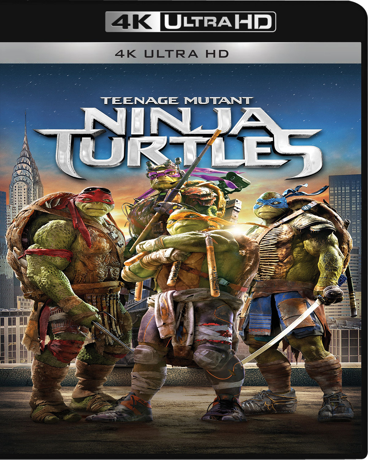 Teenage Mutant Ninja Turtles [2014] [UHD] [2160p] [Latino – Castellano]