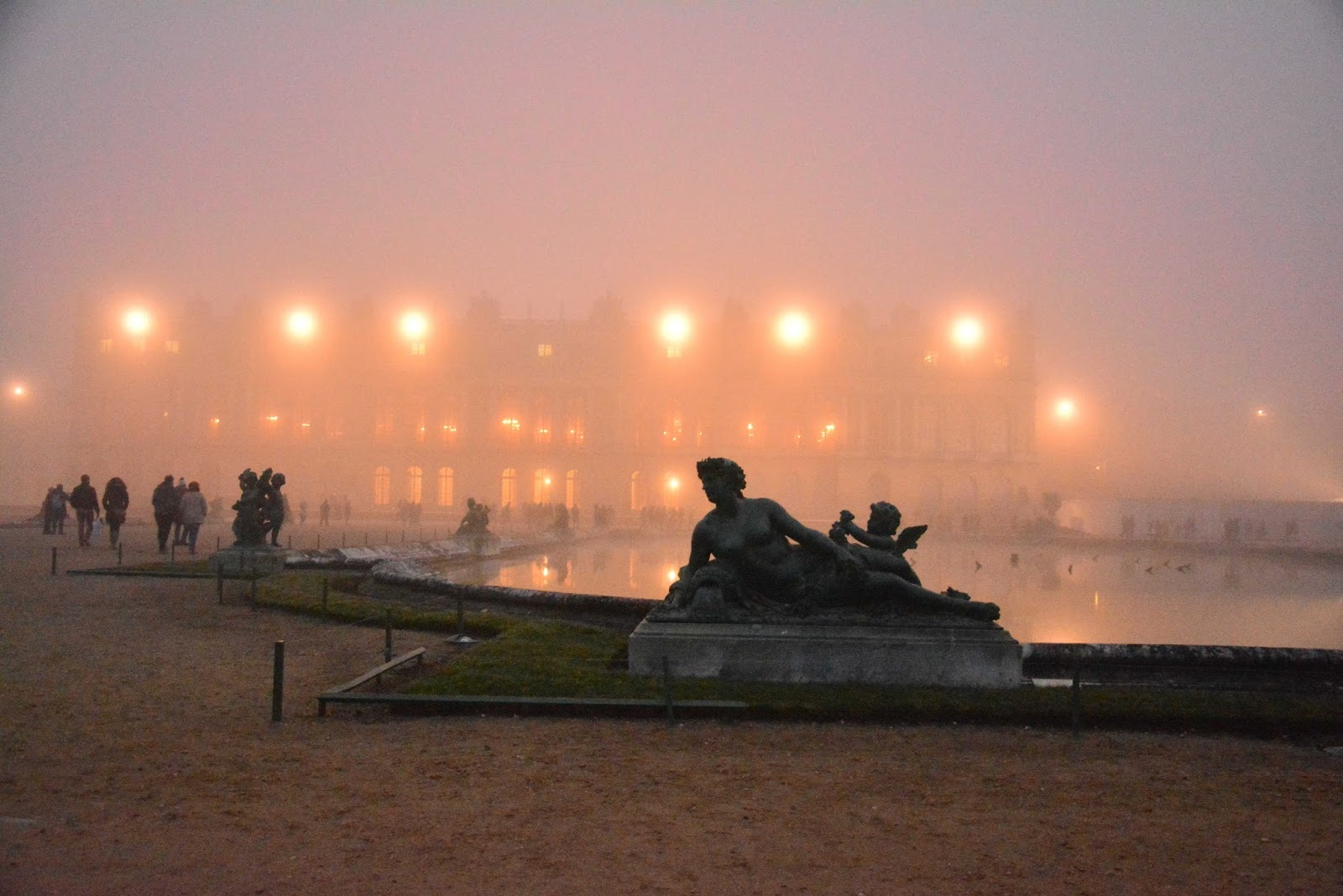 the paris feast versailles shrouded in mist a visit to the