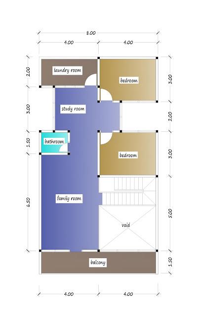2nd floor plan of beautiful house plan 29