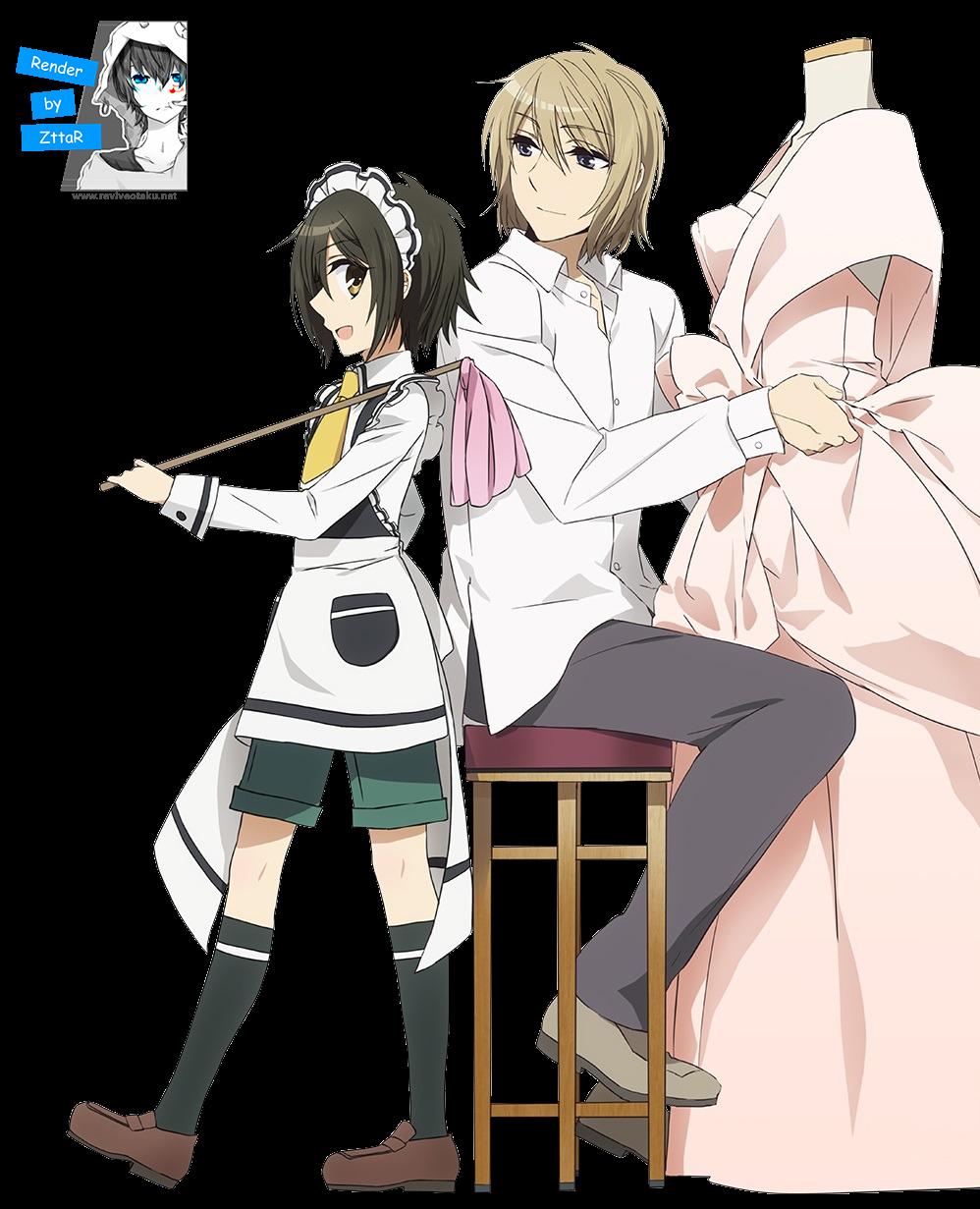 Render Komiya Chihiro & Takatori Madoka
