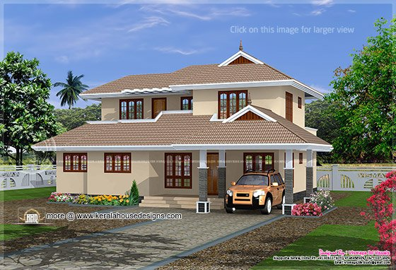 Simple Kerala home plan