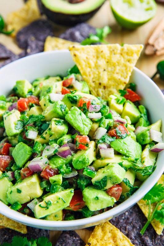 Avocado Salsa Recipe via Closet Cooking