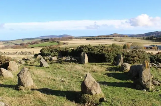 'Ancient' Aberdeenshire stone circle found to be modern replica