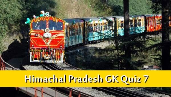 Himachal Pradesh Gk Quiz Online MCQ-7