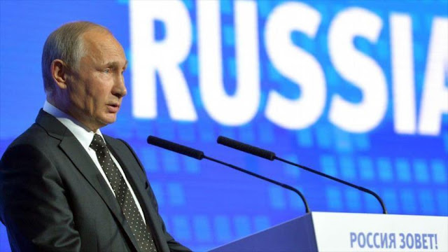 "Putin acusa a Francia de ""inflamar la situación"" en Siria"