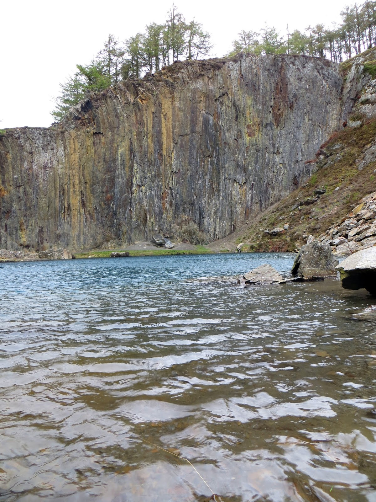 Abseiling In An Unbelievably Picturesque Abandoned Quarry