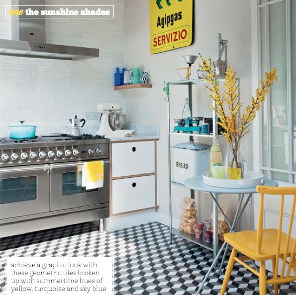 Bright Kitchens: Three Ways To A Bold & Bright Kitchen