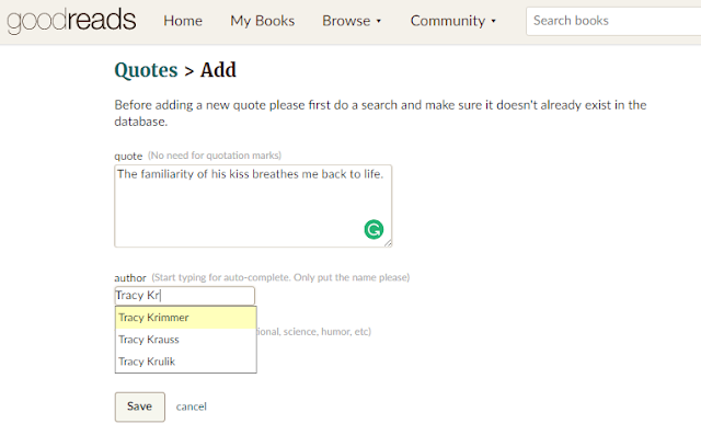 Renee conoulty how to add a quote to goodreads for Window quotes goodreads