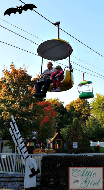 Dutch Wonderland, sky ride, Happy Hauntings