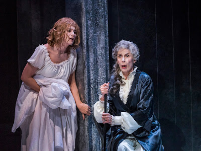 Barber: Vanessa - Virginie Verrez, Rosalind Plowright - Glyndebourne (Photo Tristram Kenton)