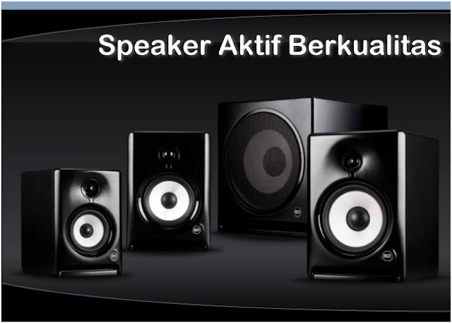Harga Speaker Aktif Terbaik