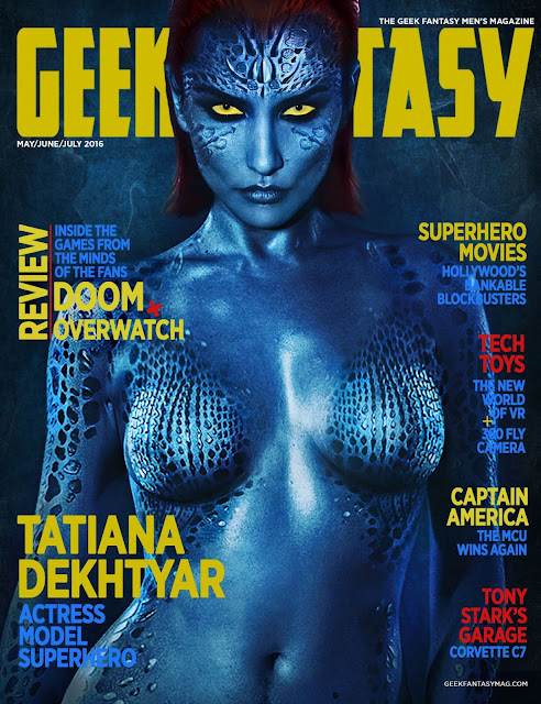 Actress, Model, @ Tatiana DeKhtyar - Geek Fantasy Magazine May/July 2016