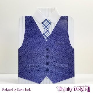 Divinity Designs Custom Dies: Couture Collection, Paper Collection: Menswear Material