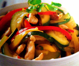 Thai Spiced Chicken With Courgettes